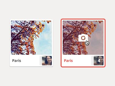 Hover hover icon avatar photo webdesign ui interface design web