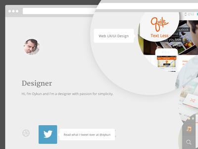 New portfolio site (kinda)
