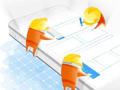 Piictu piictu illustration glare glow drawing iphone grid watercolor helmets screen