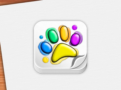 Icon for coloring app coloring zoo zoo ios icon icon bear bear print inks paint ios animals