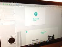 Humanist coder Blog design WIP