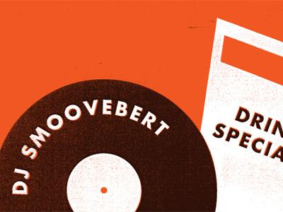 Smoove smoove poster typography illustration nita nita