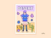 日常系列-(二)沙漠