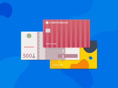 Card and money