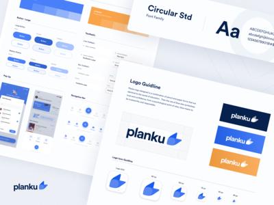 #Exploration | Style Guide Planku App