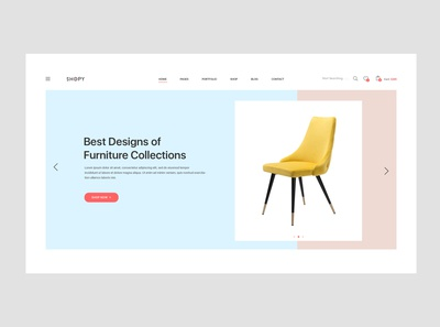 Shopy - e commerce product page