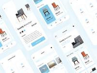 Furniture Mobile Apps Concept