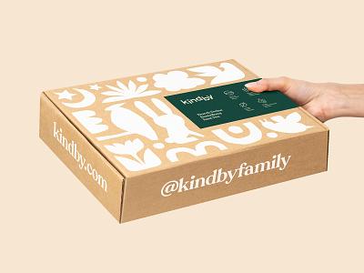 Fun Pattern clothing animal illustration baby fun box packaging branding cardboard cotton fashion recyclable sustainable organic logo wordmark hand-drawn animals pattern