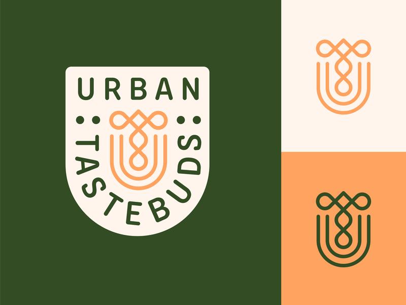 Urban Tastebuds local delivery lifestyle blog sustainable green ut monogram monogram gluten free vegan subscription box branding logo healthy living healthy eating healthy food