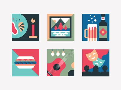 Washington DC Icon Set