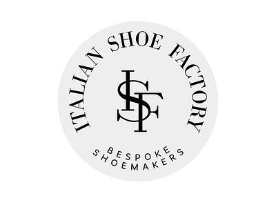 ISF Emblem logos logotype logo design logo craftmanship heritage isf monogram manufacturer shoes bespoke emblem logo emblem