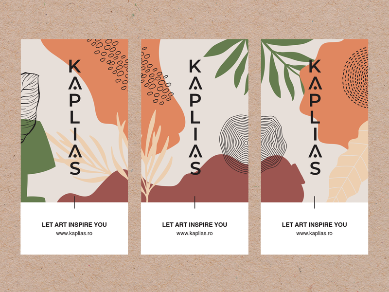 Kaplias Stickers pattern design textures natural logo logodesign logo interior design stickers abstract nature illustration nordic botanical illustration home decor art prints illustration organic