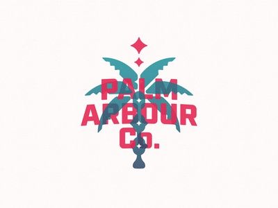 Palm Arbour Co. Logo Development 2