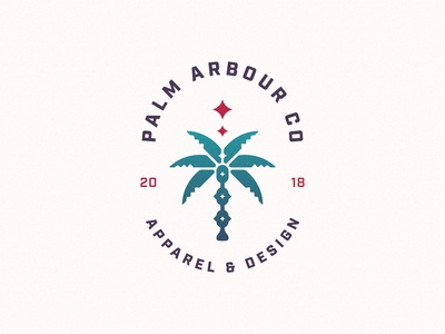 Palm Arbour Co. Logo Development 3