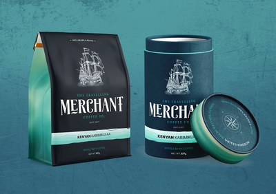 Travelling Merchant Packaging Designs
