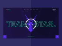 Esports Team Landing Page
