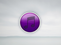 iTunes 11 Logo ui web apple app itunes logo comcept minimalistic