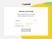 Lymet new password hints