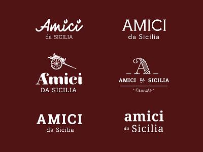 Amici Da Sicilia   Logo   Exploration