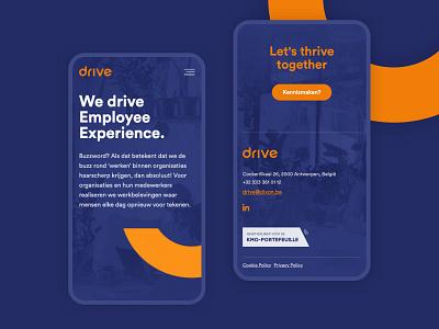 Dixon Drive minimal art direction web web design layout website webdesign customer experience design ux ui webflow