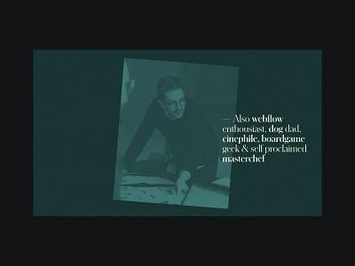 Stefan Oury - Portfolio layout web design web minimal website design ui ux webdesign typography webflow