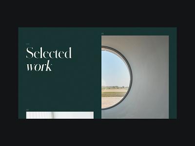 Stefan Oury - Portfolio layout web web design minimal website ux ui webdesign design typography portfolio webflow