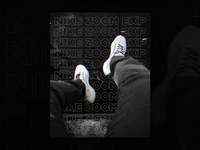 Nike Zoom EXP Poster