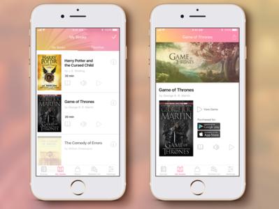 My Books App