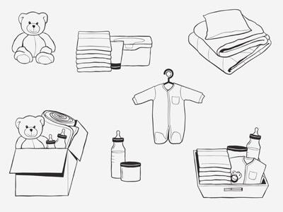 Baby Illustrations baby illustrations