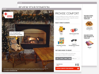 Holiday Campaign web web design campaign holidays