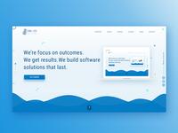 Landing Page IT Company