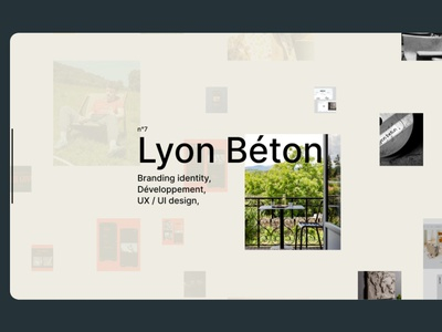Daistudio Home flat website webdesign ux ui daistudio.fr branding lyon graphicdesign freelancer