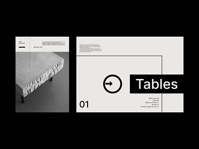 Layout exploration | Lyon Béton catalog! flat bauhaus typography design branding lyon print layout freelancer graphicdesign