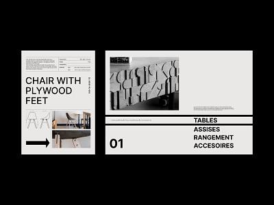 Layout exploration 2 | Lyon Béton catalog! bauhaus minimal illustration typography vector lyon design flat branding graphicdesign freelancer