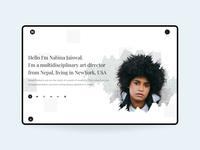 Portfolio Banner Layout