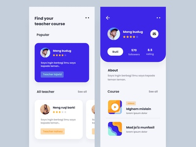 Course App Exploration