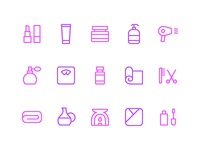 Beauty & Spa Icon Set