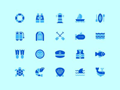 Nautical Icon Set maritime ocean marine nautical flaticon icons symbol icon