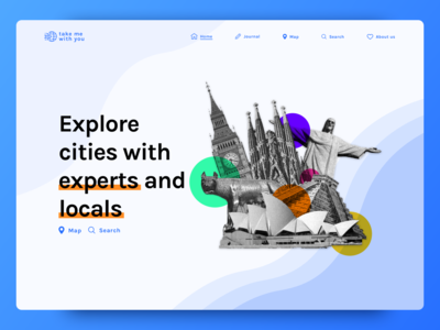Landing Page - Traveling Website