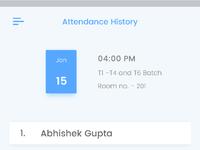 Attendance 08