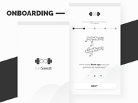 Get_Sweat | Gym Training App | Onboarding