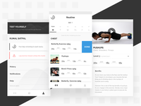 Get_Sweat | Gym Training App