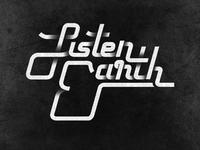 Listen Earth logo type