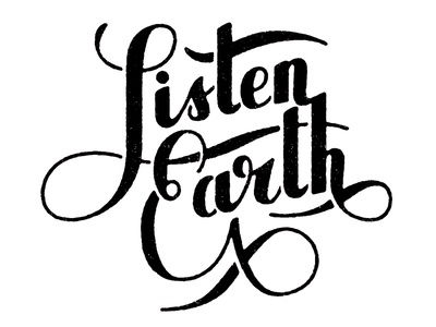 Listen, Earth - Logotype