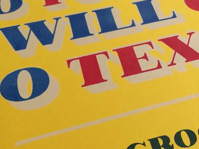 Davy Crockett Specimen Poster