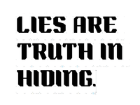 Lies - progress