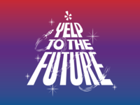 Yelp To The Future (conference branding)