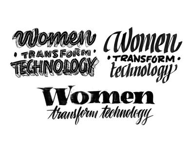 Women transform technology