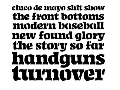 Continental Type Co is live! wooooo foundry lettering typography fonts