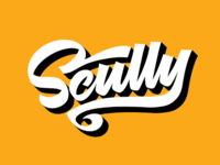 Scully t-shirt lettering